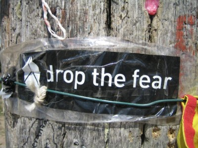 Drop the Fear on the Cruz de Ferro