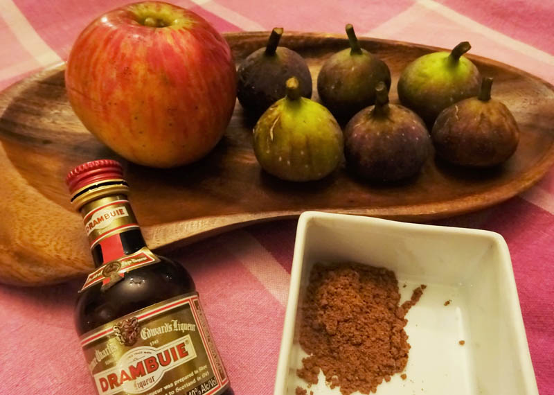 Apple & Fig Jam with Cinnamon and Drambuie