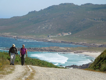 June 2013 Walking Death Coast Near Cabo Vilan
