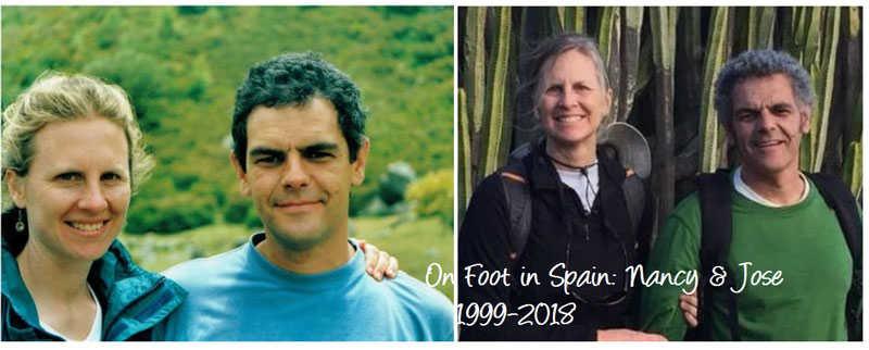 20 years of On Foot in Spain with Nancy & Jose