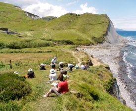 Picnic on Flysch Hike