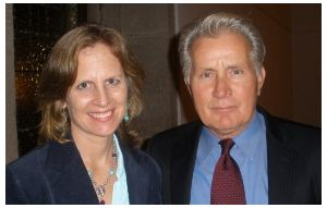 Nancy and Martin Sheen